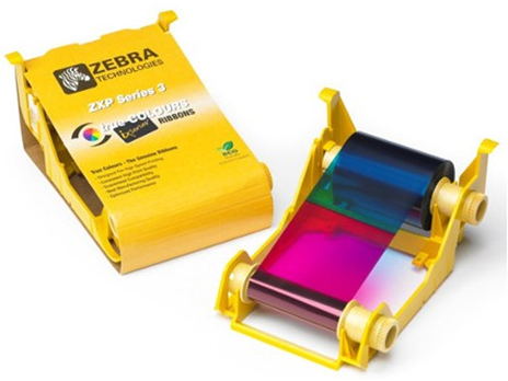 Cinta de Color de 5 Paneles YMCKO para 250 imágenes.