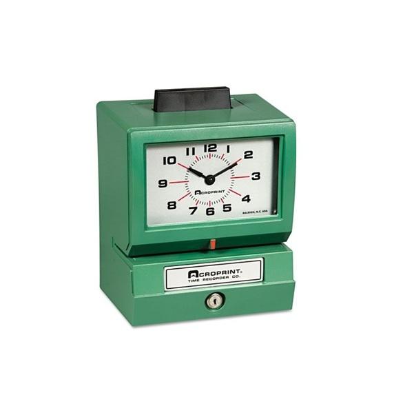 Reloj Checador 125QL4. Impresión manual I00131